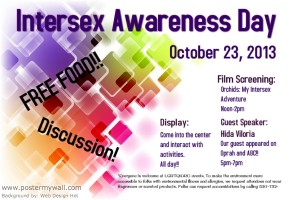 Intersex Awareness Day Flyer