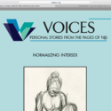 Read Intersex Narratives in New VOICES Issue