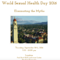 Viloria Speaking at Stanford's World Sexual Health Day
