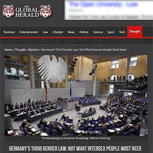 Hida Viloria in the Global Herald