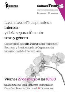 Barcelona Cutura Trans event Poster